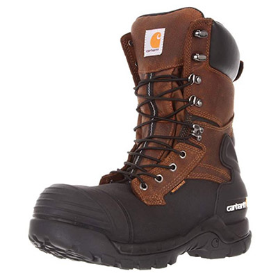 Best Winter Work Boots Carhartt Men's 10 inch Boot