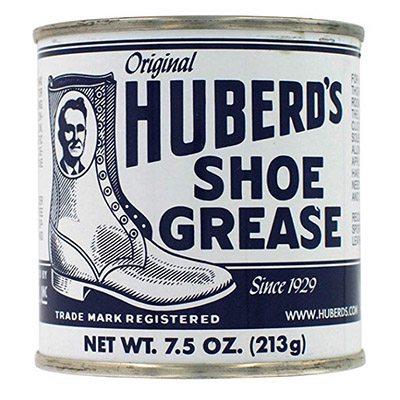 Best Boot Creams Huberd's Original Shoe Grease