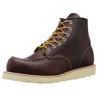 "Best Work Boots for Walking Red Wing Heritage Men's Classic Moc 6"" Boot"