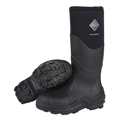 Best Work Boots for Concrete Muck Boot Adult MuckMaster Hi-Cut Boot