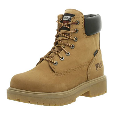 Best Work Boots for Concrete Timberland PRO Men's Direct Attach Soft-Toe Boot