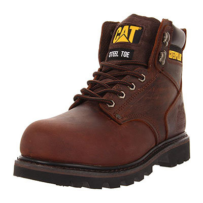 Caterpillar Men's Second Shift Steel Work Boots