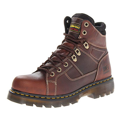 Best Work Boots for Plantar Fasciitis Dr. Martens Men's Ironbridge NS Work Boot