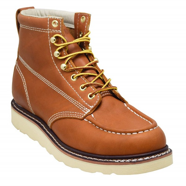 most comfortable leather work boots