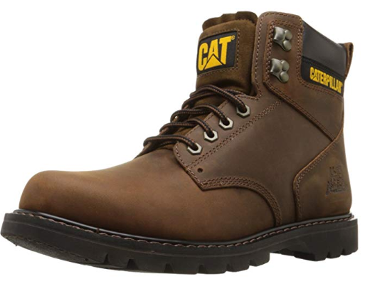 Caterpillar Men's 2nd Shift 6 Plain Soft-Toe Work Boot