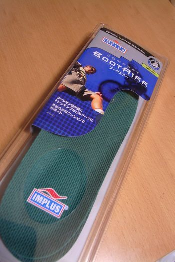 a pack of specialized insoles